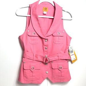 Ruby rd petite vest NWT